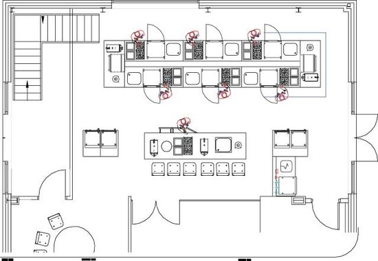 Chinese restaurant kitchen layout plan modern home for Good kitchen layout