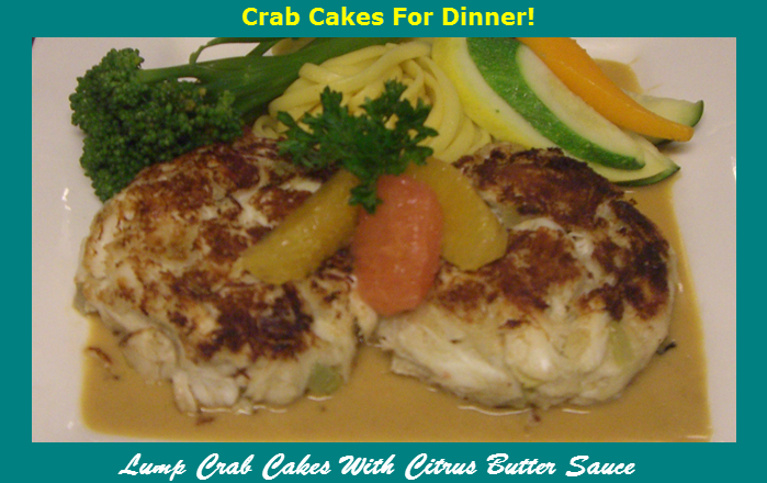 O'Leary's Kitchen Lump_Crab_Cakes_with_Citrus_Butter_Sauce