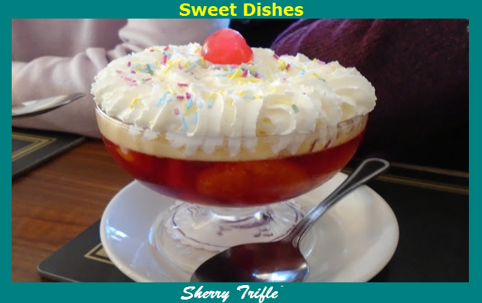 O'Leary's Kitchen Sherry Trifle
