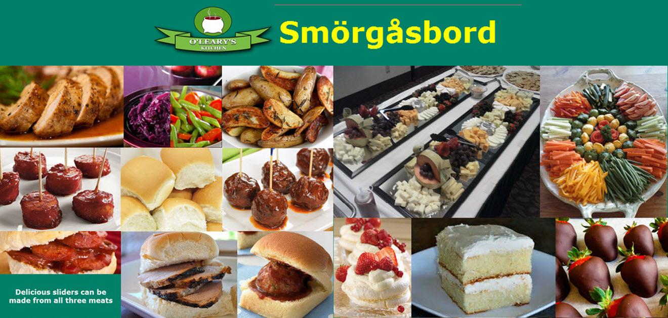 Smorgasbord-O'Leary's Kitchen